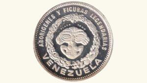 """VENEZUELA Medalla Serie Aborígenes De Venezuela """"Cacique Conopoima"""" 1959 AU"""
