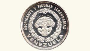 "VENEZUELA Medalla Serie Aborígenes De Venezuela ""India Paisana"" 1959 AU"