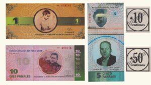 Venezuela Set De Billetes Comunales Panal  2017 UNC