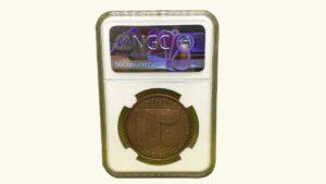 """VENEZUELA 3000 Bolívares """"Fundación de la Casa de Moneda de Venezuela"""" , 1999, NGC MS69"""