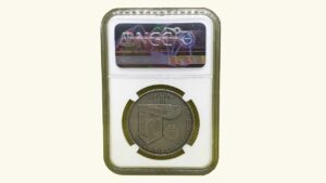 """VENEZUELA, 6000 Bolívares """"Fundación de la Casa de Moneda de Venezuela"""", 1999, NGC MS69"""