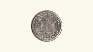 Venezuela 1/2 Bolívar, (REAL) 1945, AU+/ UNC