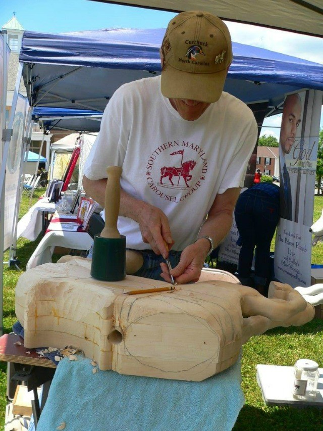 Southern Maryland Carousel Carver2
