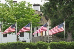 Charlotte Hall Veterans Flags