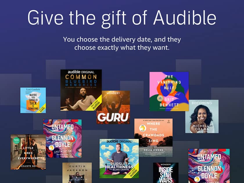 Give The Gift of Audible