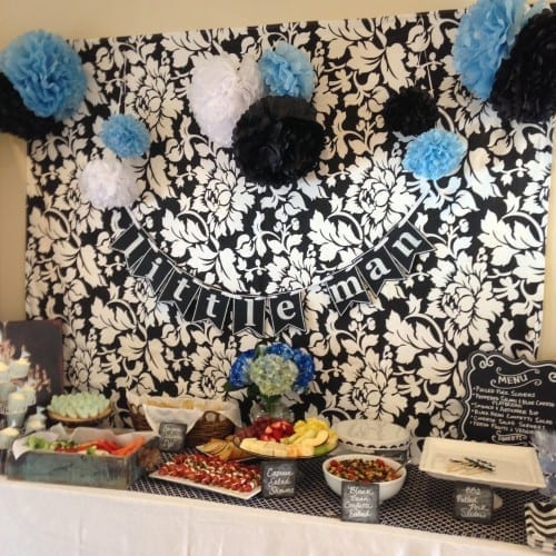 Baby Boy Shower Inspiration