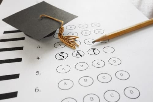 SAT exam test-optional