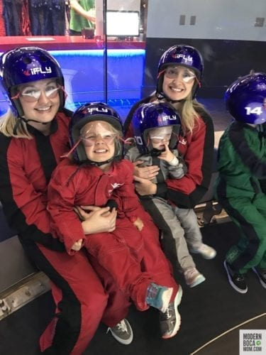 indoor skydiving in Fort Lauderdale iFLY