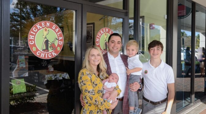 MOMpreneur Monday: Chicken Salad Chick Coral Springs