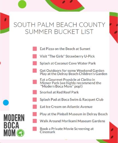 Boca Raton summer things to do