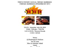 2018 Chicken Barbecue at Warren Woods 1