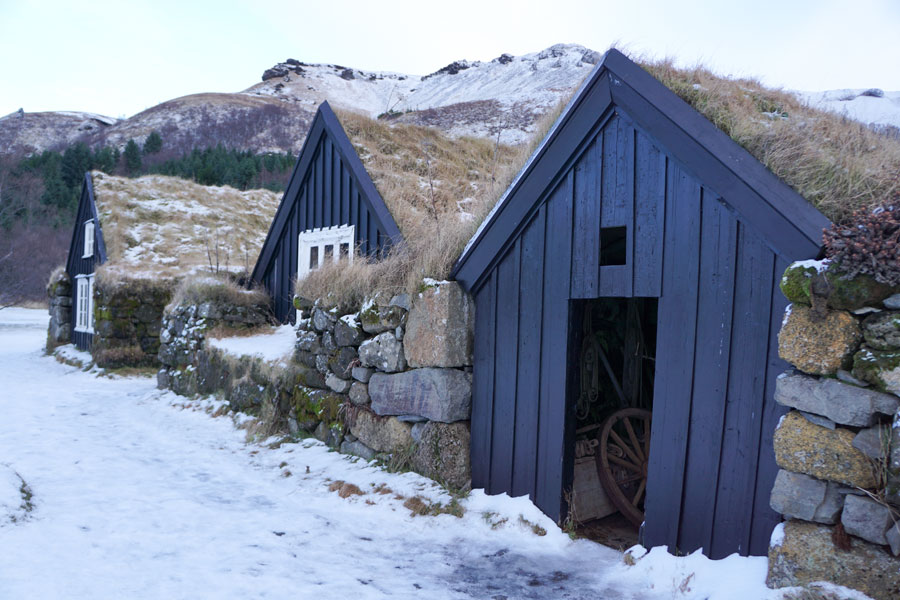Little huts