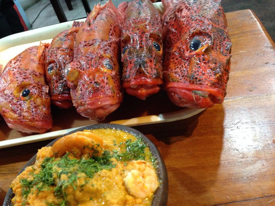Fish dinner