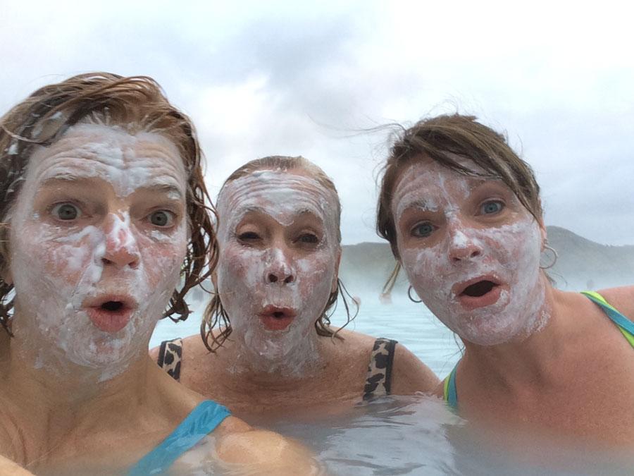Icelandic facials!