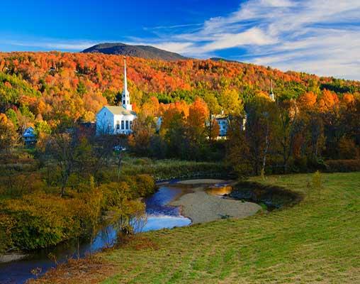 Fall Foliage in New England