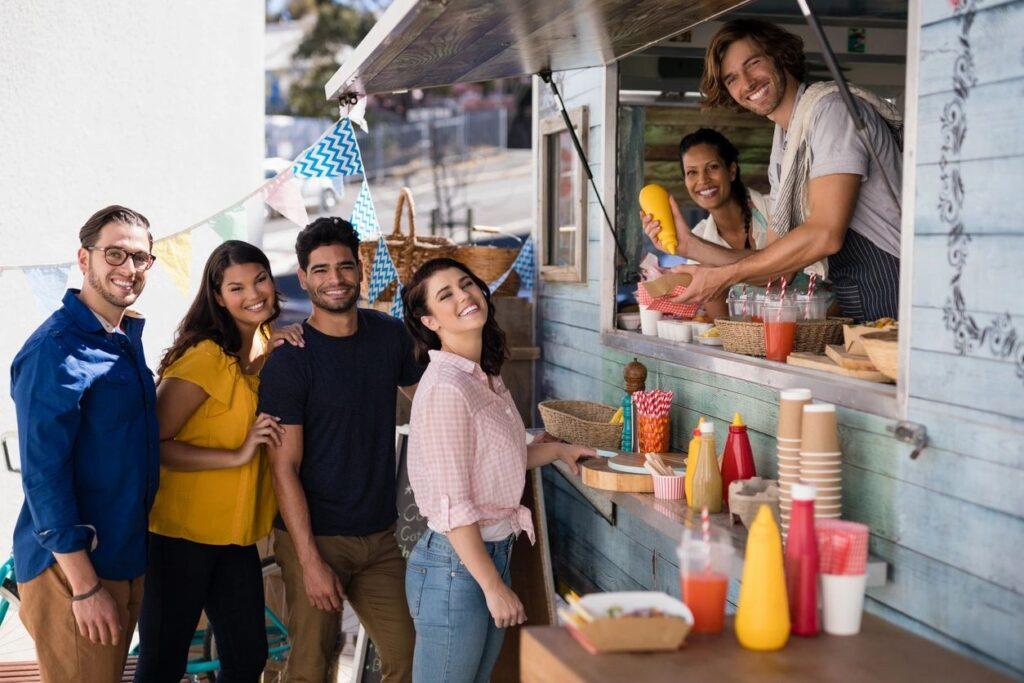 food trucks, modular kitchens