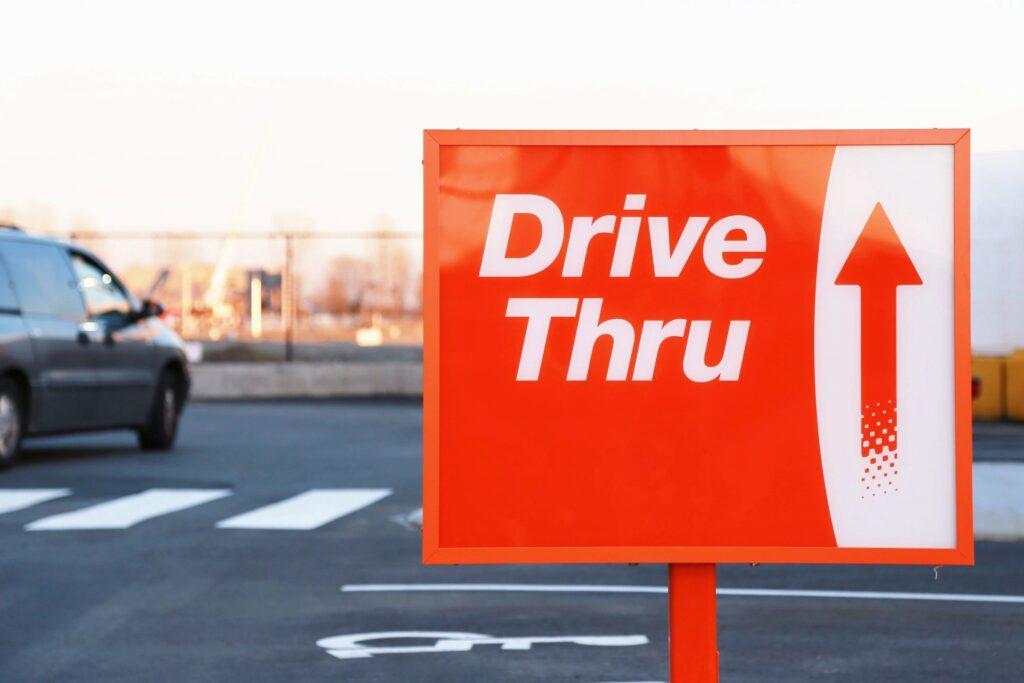 restaurant drive thru