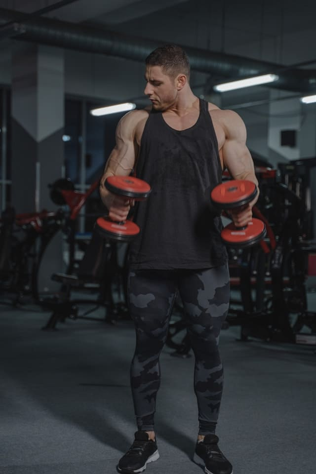 bicep workouts for men