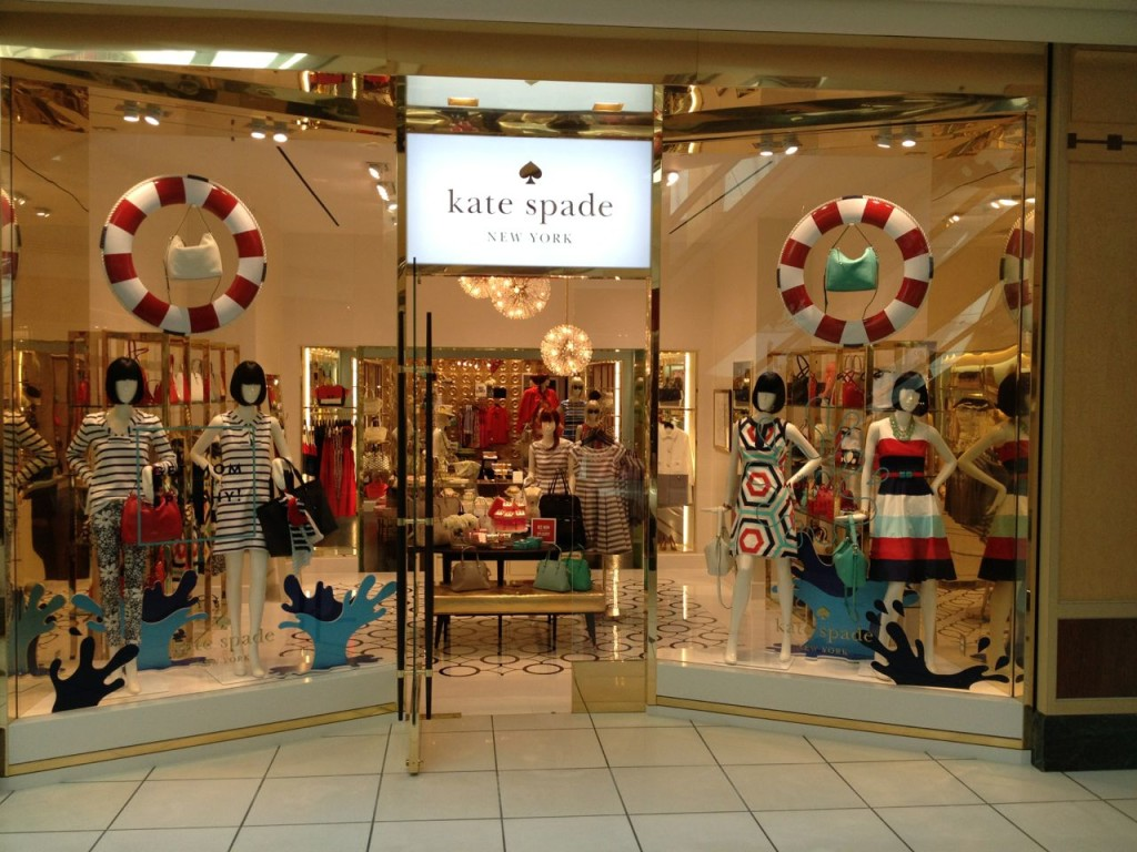 Kate Spade storefront
