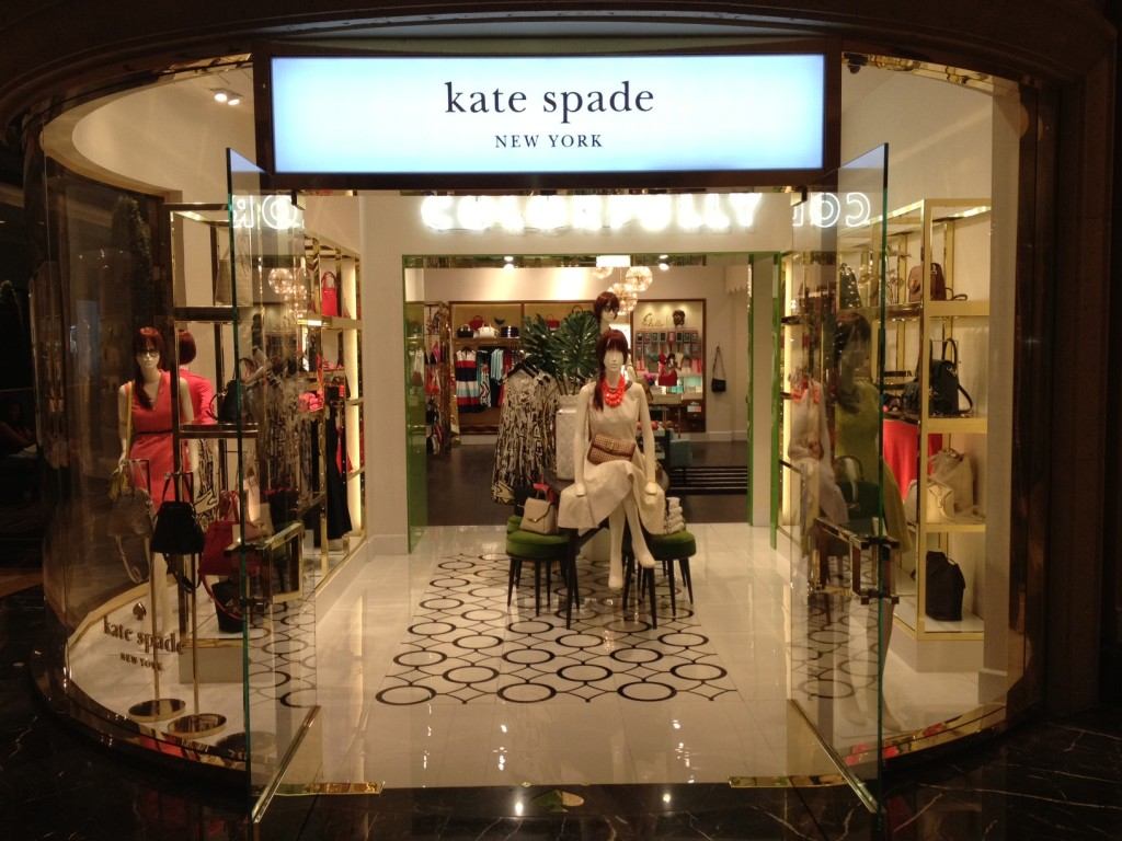 Kate Spade New York shop entrance