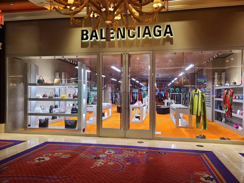 Balenciaga storefront