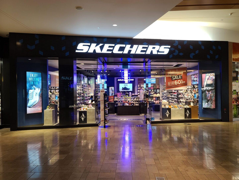 Skechers storefront