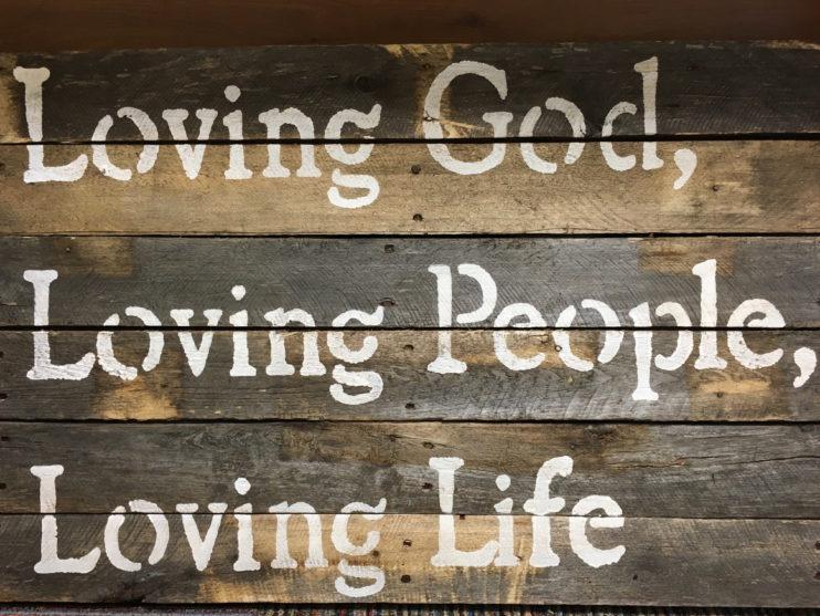 Loving God image