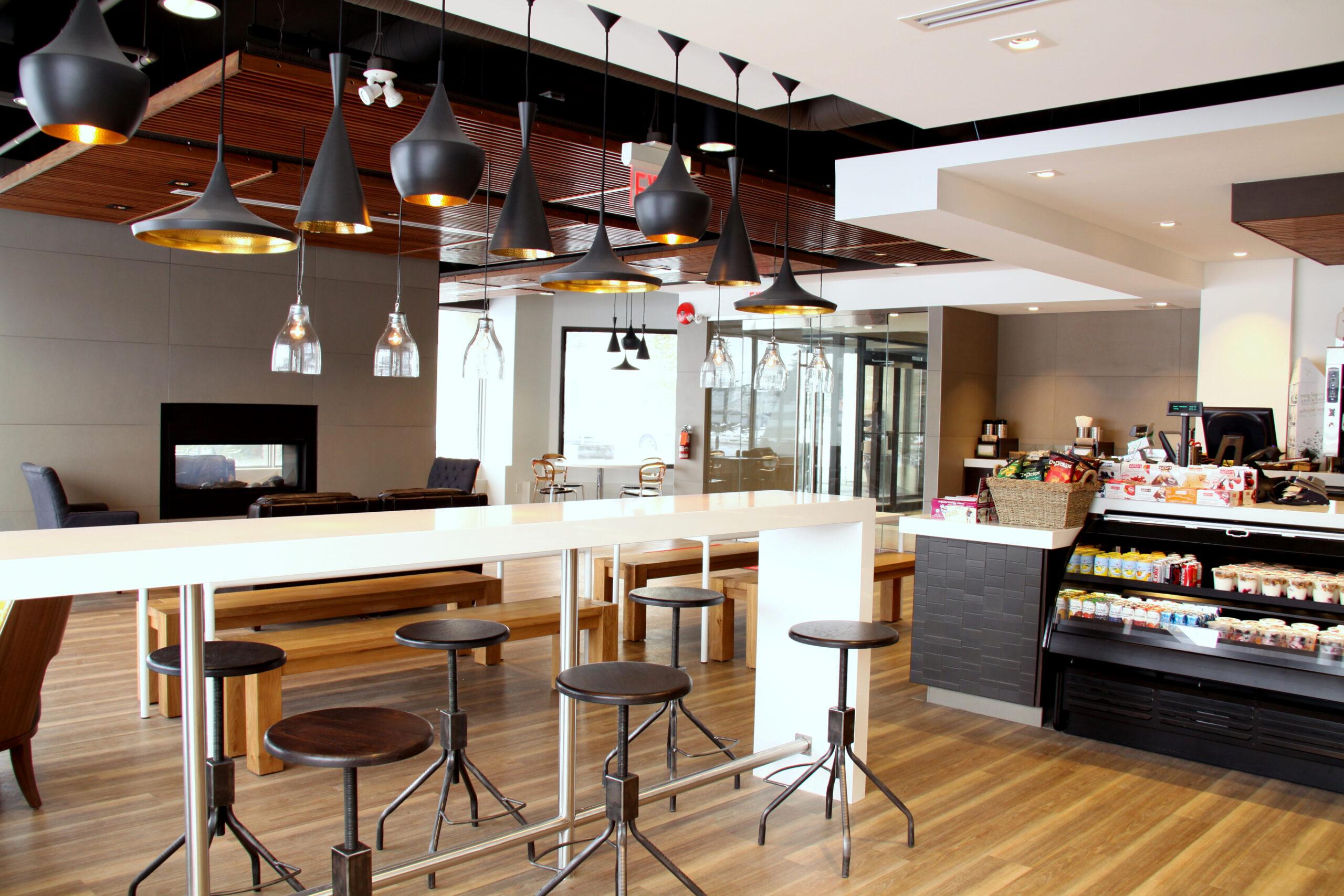 Shaw Cafe Interior