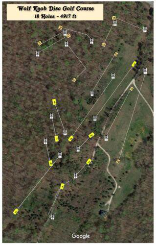 Wolf Knob Course Layout