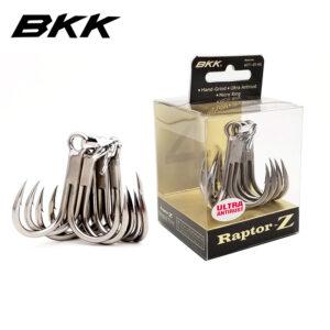 Bkk Raptor-Z treble hooks. Best treble hooks for poppers.