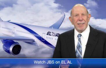 JBS on El Al Dreamliner Flights