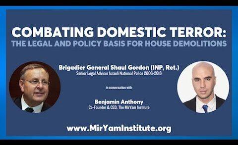 Why Demolish Terrorists' Homes?