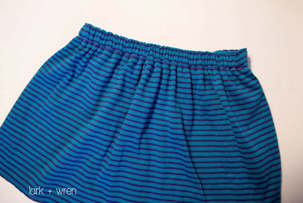 Reversible Knit Skirt Tutorial