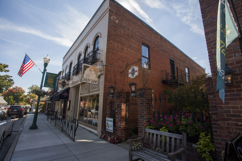 Courtesy of the Zionsville Chamber of Commerce Downtown Zionsville