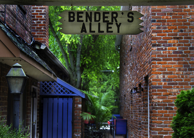 Courtesy of the Zionsville Chamber of Commerce Benders Alley, located off Main Street in Zionsville.