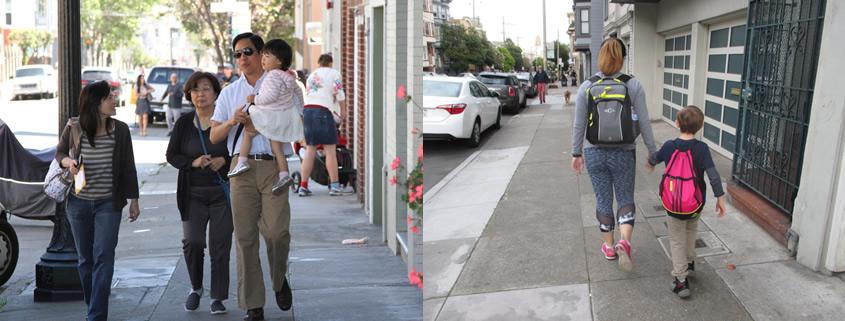 Low tech urban mobility - pedestrians