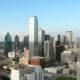 Dowtown Dallas from Reunion Tower