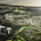 Conceptual view of future suburbia