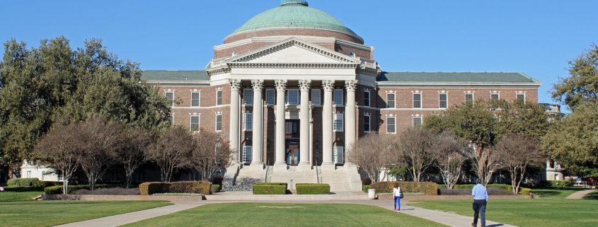Dallas Hall at Southern Methodist University
