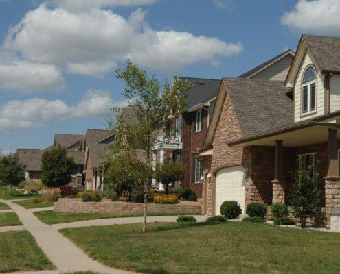 Suburb of Des Moines