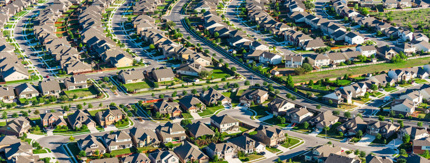 suburban housing growth