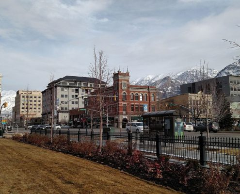 Downtown Provo, Utah