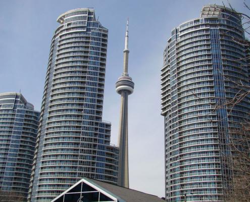 Urban Center, downtown Toronto