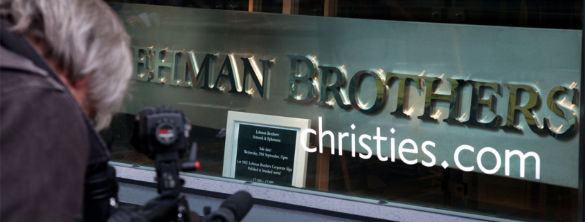 London auction of Lehman Brothers