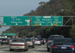 Interstate 110 in Lost Angeles