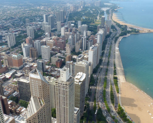 Chicago's Gold Coast, by Roman Boed