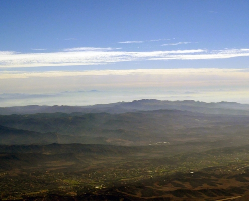 Photograph by D Ramey Logan: Aerial view of Rancho Santa Margarita