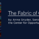 The Fabric of Character, a new book by Anne Snyder