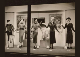 Macy's display window, from 1933