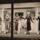 Macy's display window, from 1933